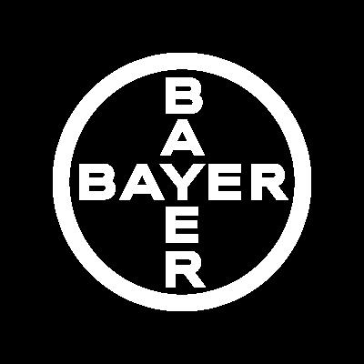 Bayer weißes Logo - Media Frankfurt